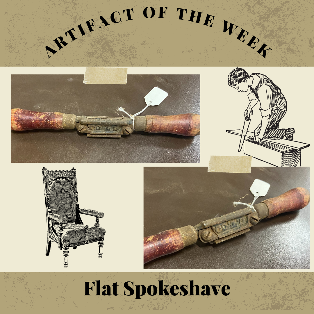 Artifact of the Week – The Flat Spokeshave