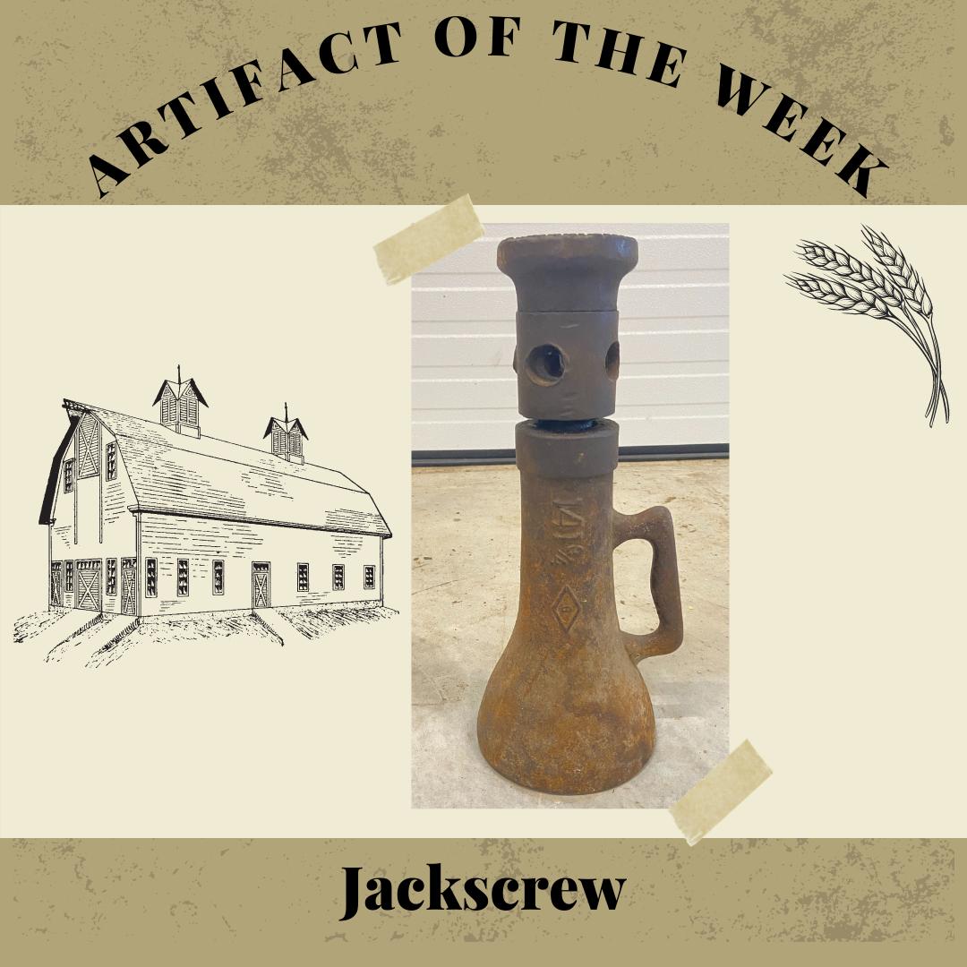 Artifact of the Week – Jackscrew