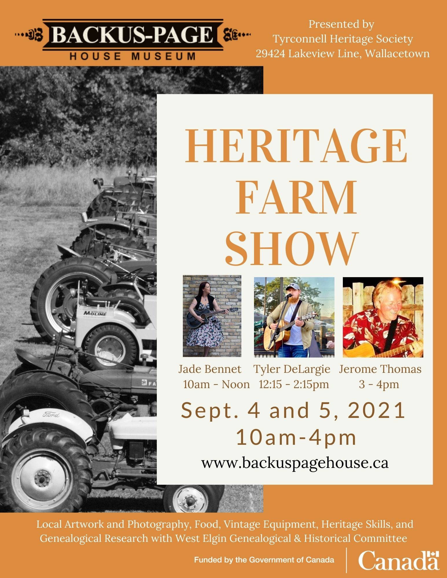 Grand Opening Saturday of the new Agricultural History Centre